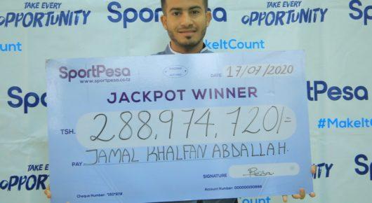 Jackpot Winner August 2020
