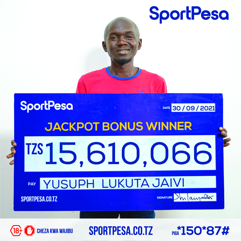 Washindi wa Jackpot Bonus ya Sportpesa wazidi kumiminika- Wiki hii 15,610,066/=.